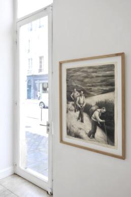 Peter Martensen - Undone sketches - vue de l'exposition 1