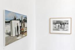Peter Martensen - Undone sketches - vue de l'exposition 2