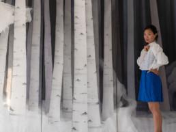 Min jung-Yeon - Tissage - Guimet - atelier -