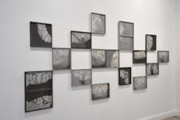 Nicolai Howalt - mur - Galerie Maria Lund - vue expo migrations