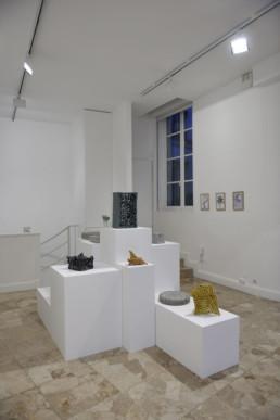 Esben Klemann - céramiques - Galerie Maria Lund - vue expo migrations