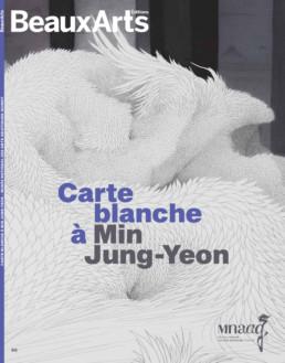 Couverture Beaux ArtsMagazine - Min Jung-Yeon - Musée Guimet