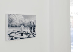 Peter Martensen - Galerie Maria Lund - vue expo Call from inside