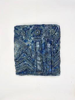 Pernille Pontoppidan Pedersen - Tablet green-blue