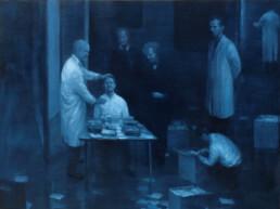 Peter Martensen - Sketch for 'The Studio'