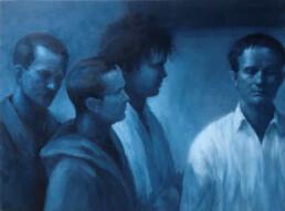 Peter Martensen - The Collectors (Sketch for 'The Studio')