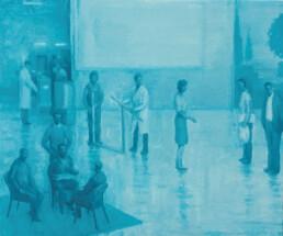 Peter Martensen - The Philosophers (Sketch for 'The Studio')
