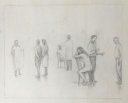 Peter Martensen - Sketch for