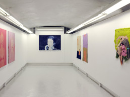 Vue de l'exposition Summer thinking - Boussarie - Wobst