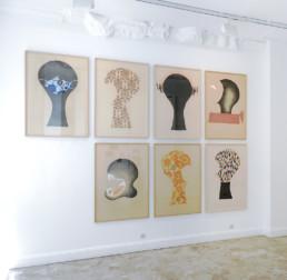 Vue de l'exposition Summer thinking - Le Suavé