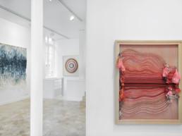 Un jour j'ai trouvé - Lyndi Sales - vue Winding course - Galerie Maria Lund