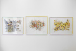 Un jour j'ai trouvé - Lyndi Sales - vue Expansion - Galerie Maria Lund